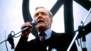 Tony Benn speaking in 1981