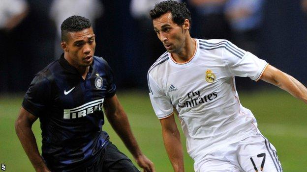 Real Madrid and Spain defender Alvaro Arbeloa