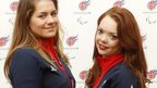 Caroline Powell and Jade Etherington
