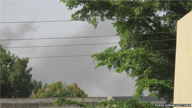 Smoke in Maiduguri