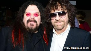 Roy Wood and Jeff Lynne