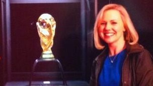 Sara Orchard and FIFA World Cup