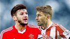 Adam Lallana and Fabio Borini