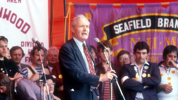Tony Benn rally