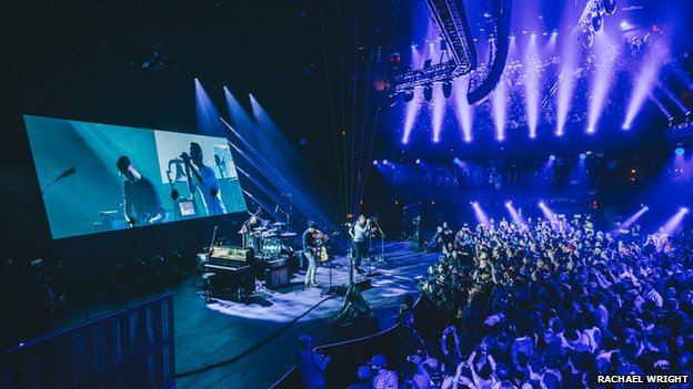Coldplay play the iTunes festival at SXSW