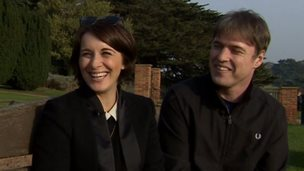 Vicky McClure and Jonny Owen