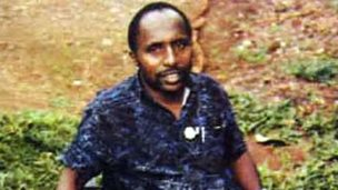 Undated picture released by Interpol shows Pascal Simbikangwa in 2008