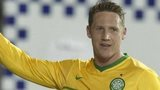 Kris Commons celebrates one of his three goals against Kilmarnock