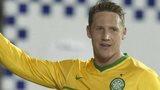 Kris Commons celebrates one of his three goals against Kilmarnock