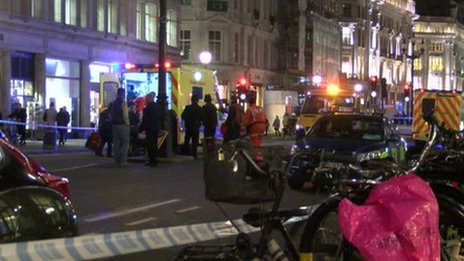 Collision on Regent Street on 25 February.