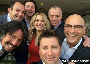 Ideal Home Show selfie