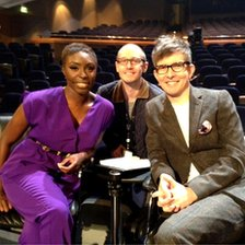 Gareth Malone, Laura Mvula and BBC WM's James Bovill