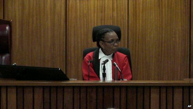Judge Mapisa in court (5 March 2014)