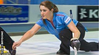 'Lead' Barbara McPake is part of the Scotland team in Canada