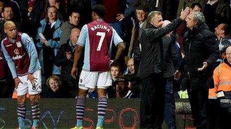 Bbc Sport Football Man City V Aston Villa