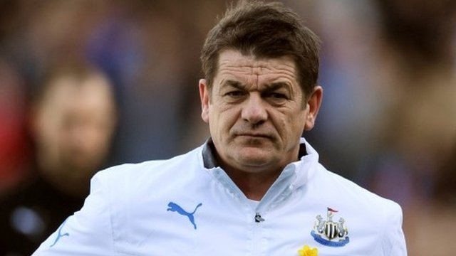 Newcastle assistant manager John Carver
