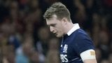 Stuart Hogg was sent off in a Six Nations record defeat for Scotland