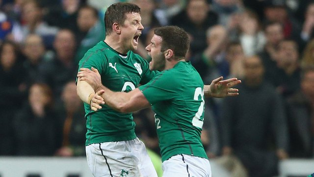 Highlights: France 20-22 Ireland