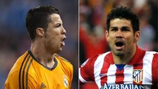 Cristiano Ronaldo and Diego Costa