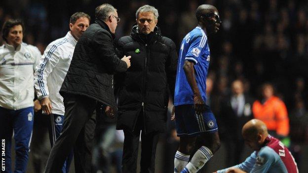 Paul Lambert & Jose Mourinho