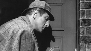 Alan Wheatley as Sherlock Holmes in the BBC's 1951 TV production