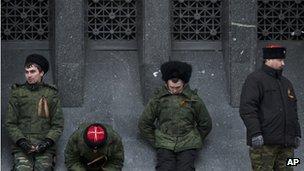 Cossacks in Simferopol