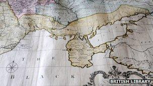 Map of Crimea