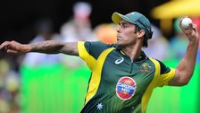 Australia fast-bowler Mitchell Johnson