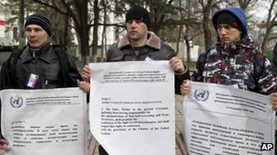 Russian supporters in Simferopol (16 March 2014)