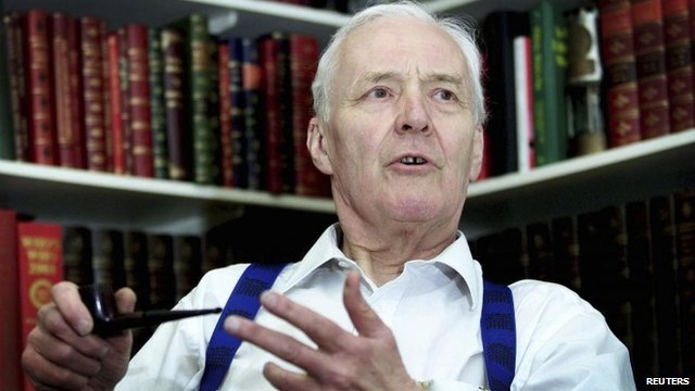 Veteran left-wing campaigner Tony Benn,