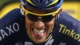 Spanish cyclist Alberto Contador
