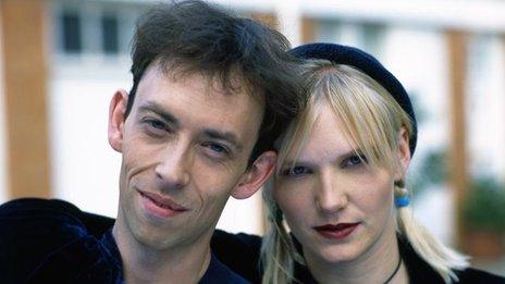 Steve Lamacq and Jo Whiley