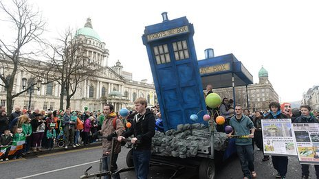 Tardis float