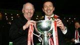 Stewart Milne and Derek McInnes