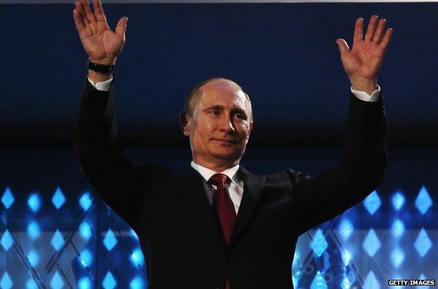 Russian President Vladimir Putin (16 March)