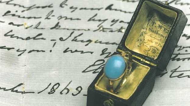 Author Jane Austen's ring