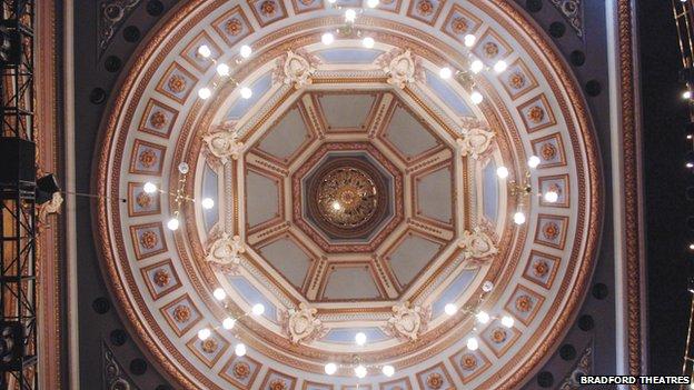 Alhambra auditorium roof