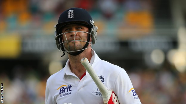 England batsman Jonathan Trott