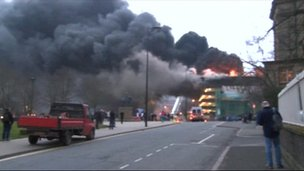 Assembly Rooms fire
