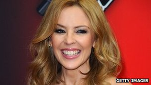 The Voice coach Kylie Minogue
