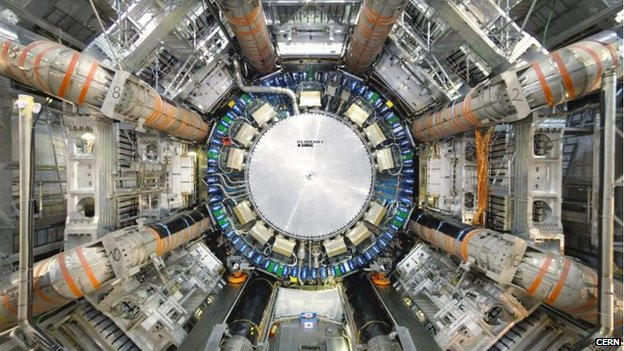 Atlas detector at Cern