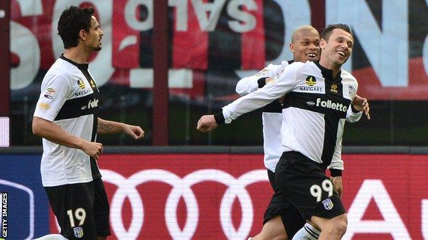 Parma's Antonio Cassano