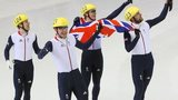 GB men win bronze in the 5000m relay