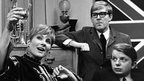 On The Margin (1966) with l-r Virginia Stride, Alan Bennett and John Sergeant