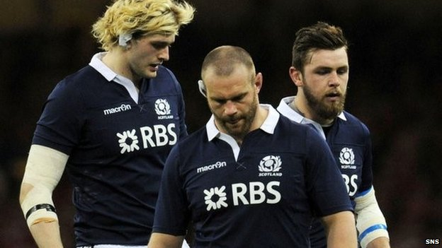 Scotland rugby players