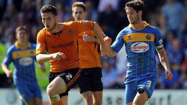 Shrewsbury Town v Wolves