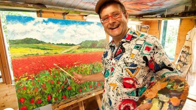 Timmy Mallet painting