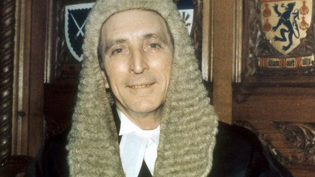 Speaker George Thomas