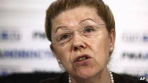 Yelena Mizulina, file image