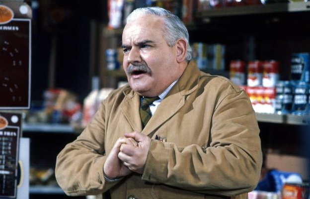 Ronnie Barker in BBC's Open All Hours
